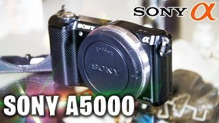 Compré una Sony A5000 de 11,000 a solo 4,000...