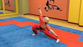 Боевая гимнастика. Ушу. Комбинации базовых упражнений. Часть 2