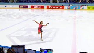 Короткая программа Девушки Казань Кубок России по фигурному катанию 2020 21