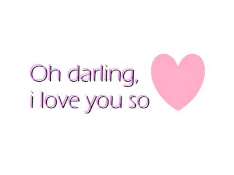 Oh Darling-Plugin Stereo (ft. Cady Groves) Lyrics