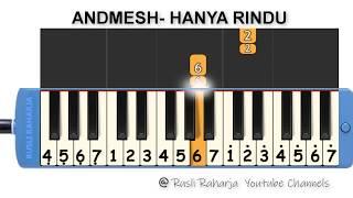 andmesh---hanya-rindu-not-pianika
