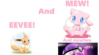 How to Get Eevee and Mew Roblox Pokemon Legends