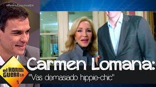 Carmen Lomana a Pedro Sánchez: