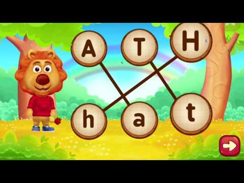Match the Letter Uppercase and Lowercase | Alphabet game for children