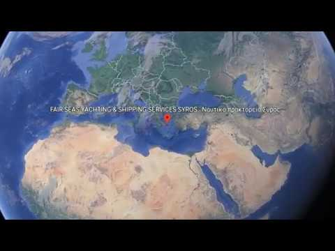 FAIR SEAS Yachting & Shipping Agency - MAP