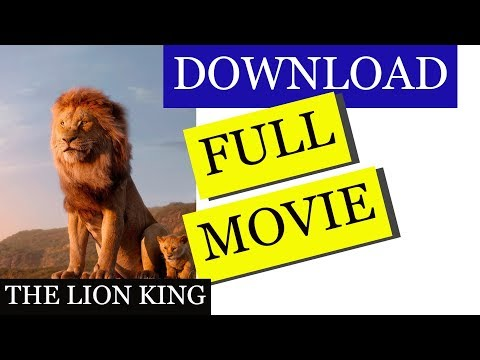 The Lion King movie in Hindi | How to Download Movies