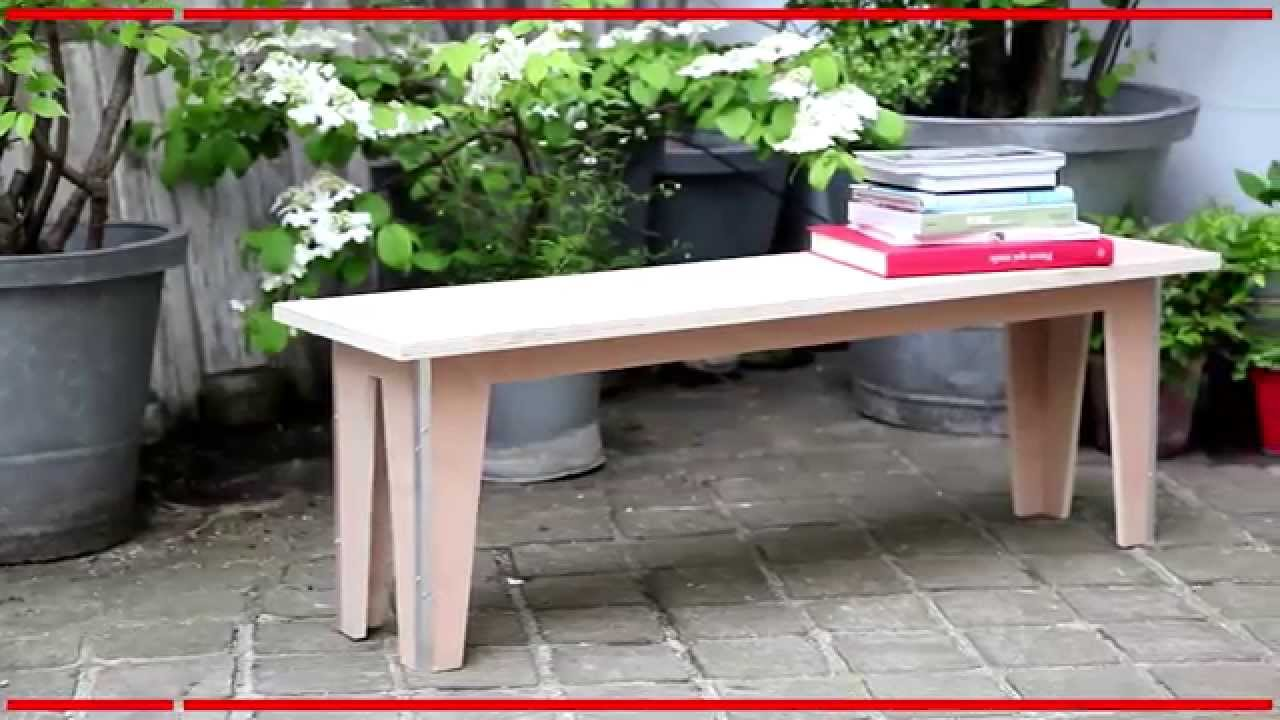 fabriquer son banc de jardin mon projet bricolage youtube. Black Bedroom Furniture Sets. Home Design Ideas