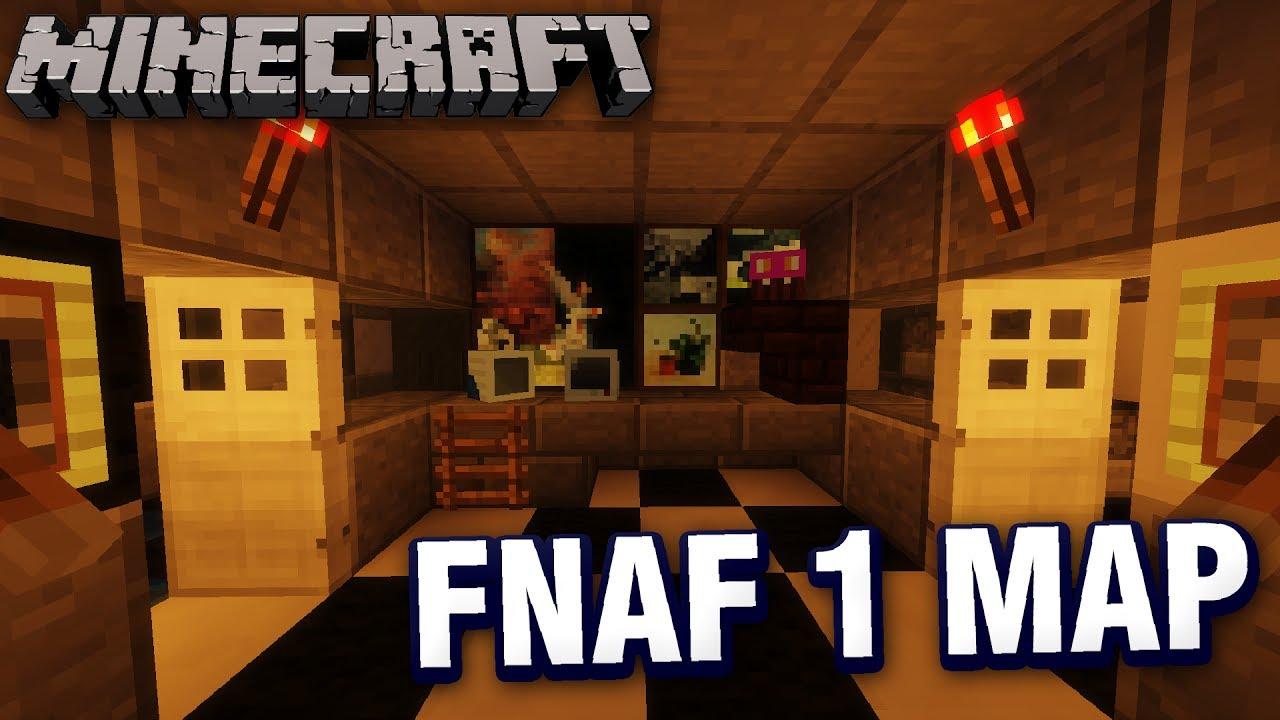 fnaf 1 map minecraft download