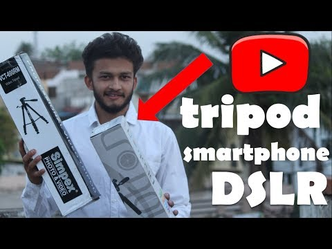 {HINDI} Best Tripods for Video Shooting (smartphone + DSLR)    Video Gear for YouTube Creators