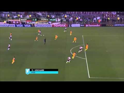Gritalos otra vez: River ganó la Libertadores con goles de Alario, Sánchez y Funes Mori