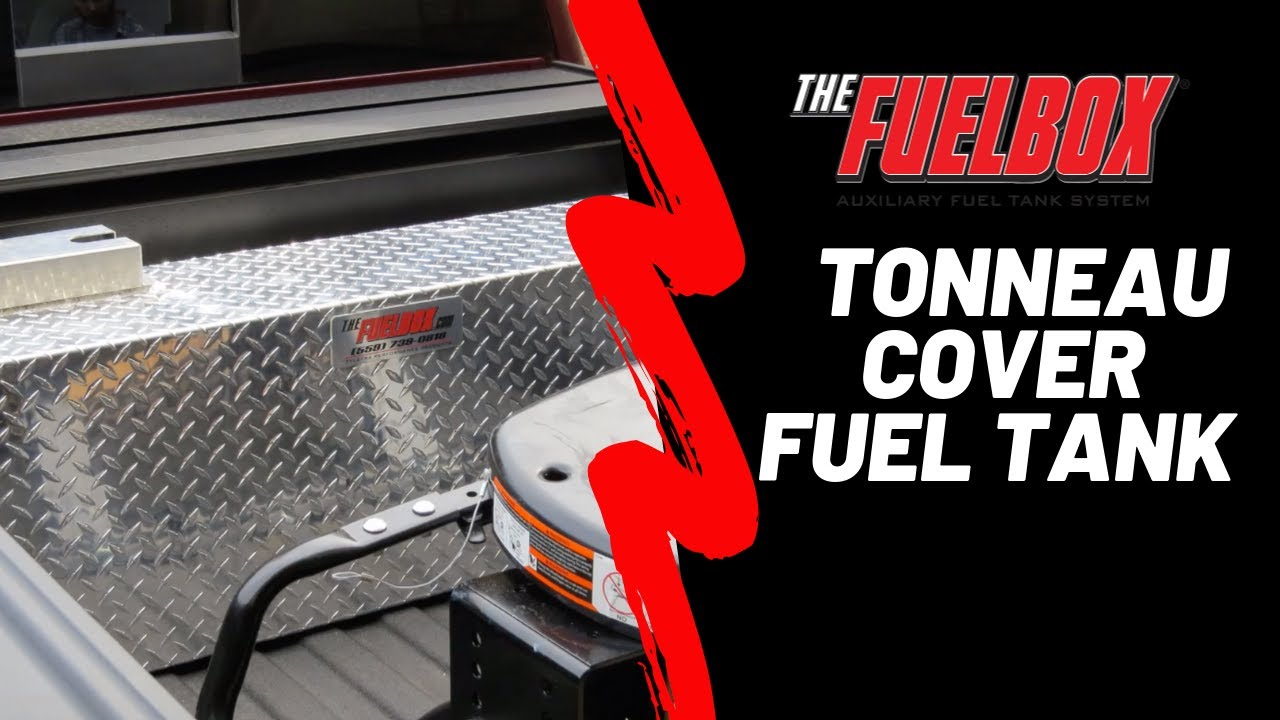 Tonneau Cover Fuel Tank Youtube