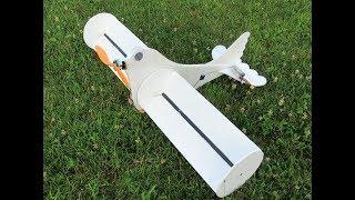 Spinny Bird - Weird Magnus Effect R/C Aircraft