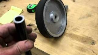 "2"" By 72"" Homemade Belt Grinder Construction Part 4"
