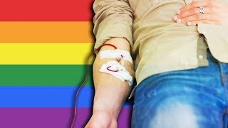 Why Can't All Gay Men Donate Blood?