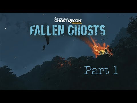 Ghost Recon Wildlands Fallen Ghosts - Part 1 - Shot Down With A New Enemy!
