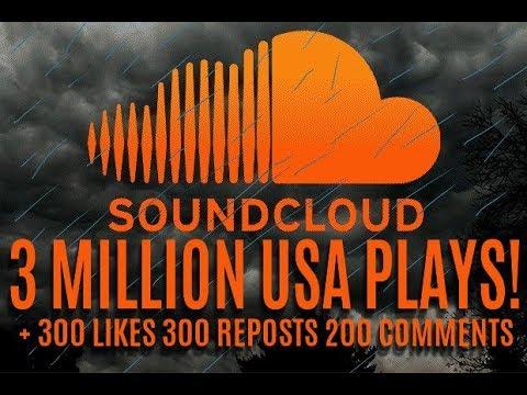 3 million usa soundcloud plays 300 likes 300 reposts 200 comments 3 million usa soundcloud plays 300 likes 300 reposts 200 comments malvernweather Images