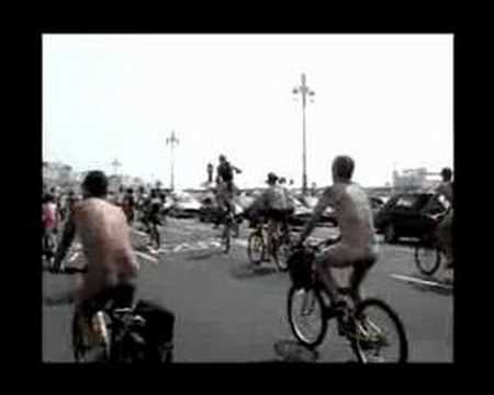 World Naked Bike Ride Brighton 2007