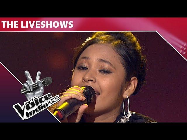 Neelanjana Ray Performs on Aaja Re Pardesi Main | The Voice India Kids | Episode 28