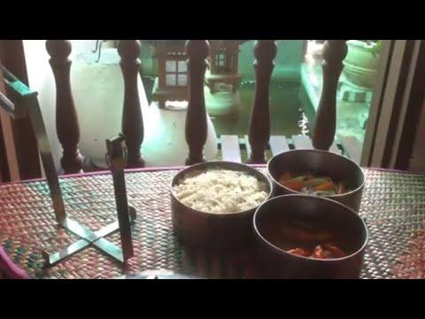 Nasi Dagang Beras Biasa + Beras Pulut bersama Gulai Ikan Tongkol & Resipi Acar Mentah