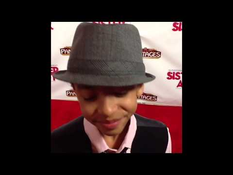Jaden Betts Talks Doc McStuffins On The Red Carpet Sister Act The Musical