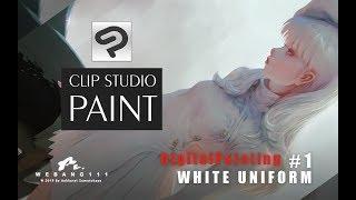 CLIP STUDIO PAINT - White Uniform #1