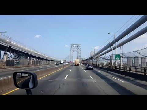 BigRigTravels LIVE! Secaucus, New Jersey to Darien, Connecticut Interstate 95 North-Aug. 15, 2018