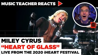 """Music Teacher Reacts to Miley Cyrus """"Heart of Glass"""" 