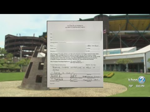 42-year UH Football Season Ticket Holder Banned From Aloha Stadium For Ticket Sales
