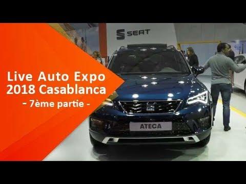 Live du Salon Auto Expo 2018 à Casablanca ( 7ème partie)