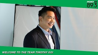 Welcome to the team, Timothy Go!
