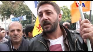 Ankara'daki Bombalı Saldırı İstanbul'da Protesto Edildi