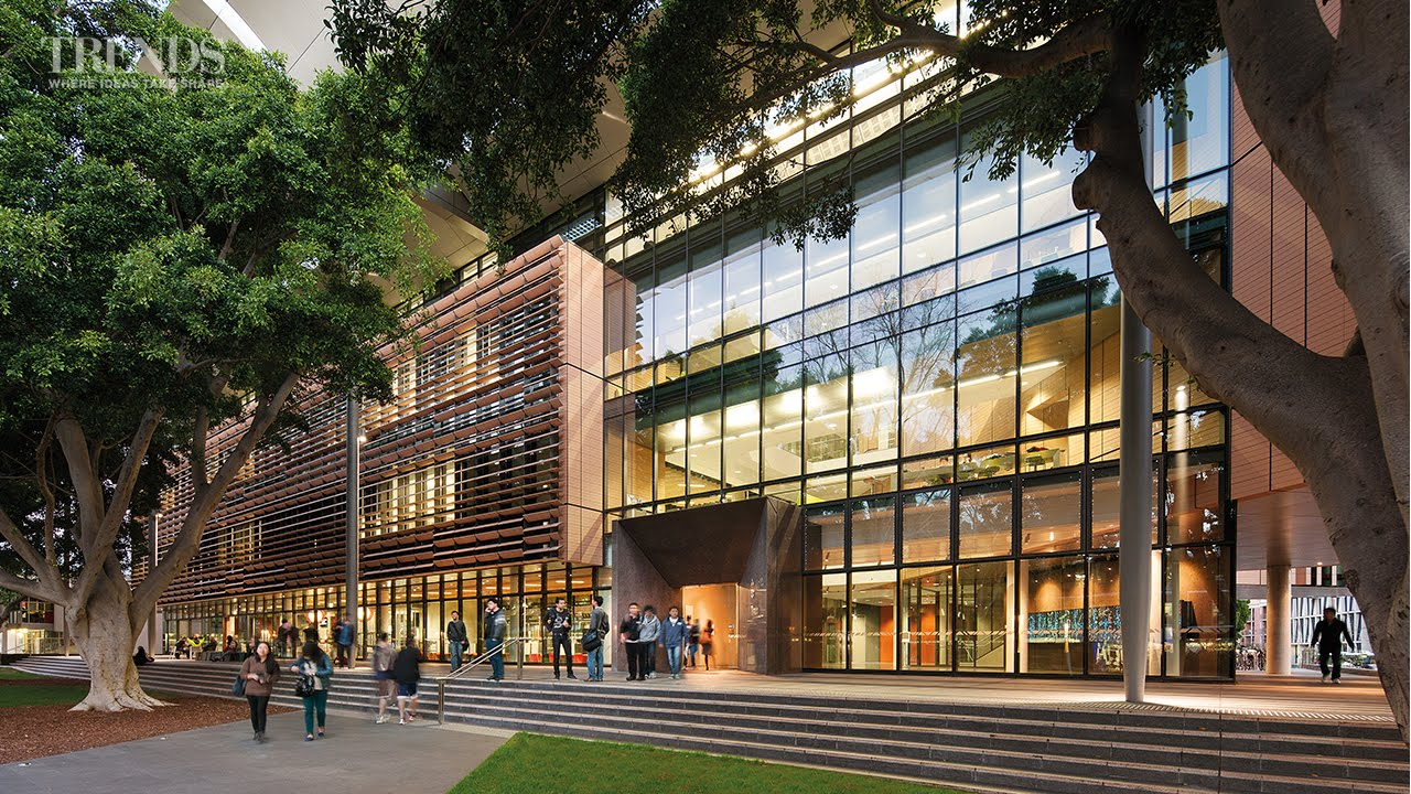 New Tyree Energy Technologies building at UNSW Australia