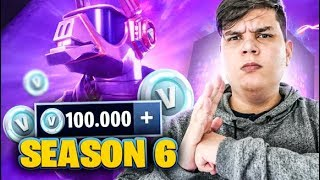 BOUGHT 100,000 VBUCKS FOR SEASON 6 AT FORTNITE ‹ JUAUM ›