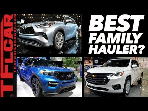 New 2020 Toyota Highlander vs Ford Explorer vs Chevy Traverse: Which One Should You Buy?