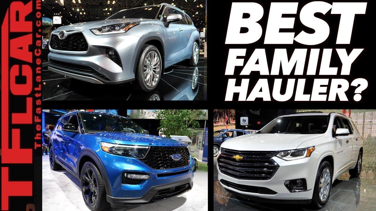 New 2020 Toyota Highlander vs Ford Explorer vs Chevy ...