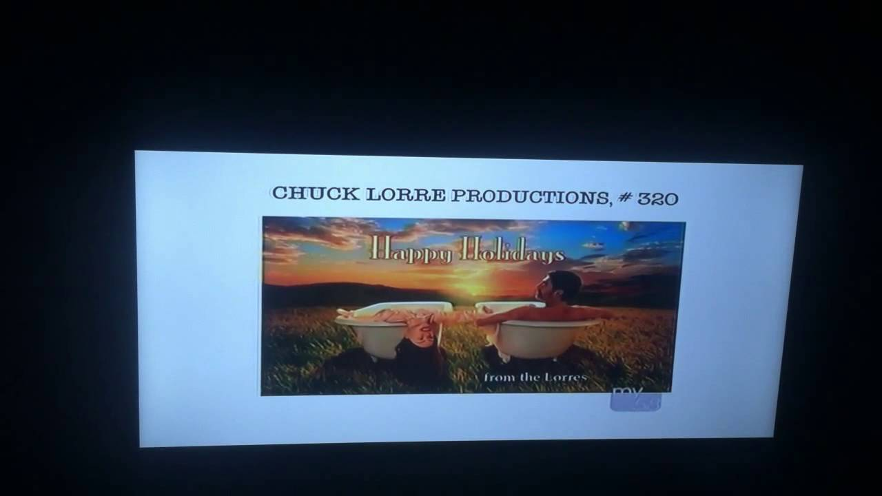 Chuck Lorre Productions And Warner Bros Television Both 2003 Youtube