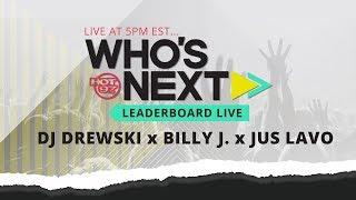 Drewski, Brandon Harmon aka Shugie, Billy J & Jus Lavo Visit Leaderboard Live!