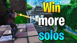 How to WIN SOLOS in Fortnite! Fortnite solo tips! How to get better at Fortnite! Fortnite tips!