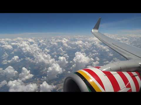 "(HD) Southwest Airlines ""Illinois One"" Boeing 737, Wing View Full Flight St. Louis to Minneapolis"
