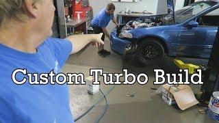 LHT Custom Turbo kit -   530whp on a stock K20