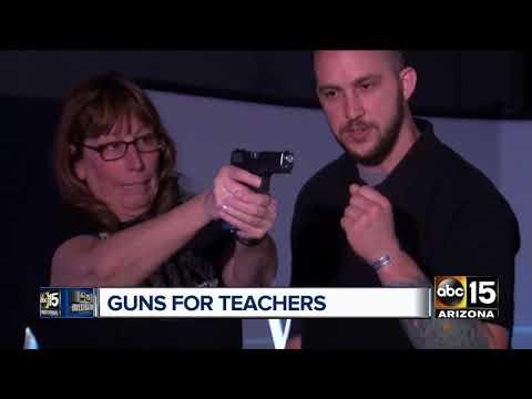 Arizona teachers weigh in on arming teachers