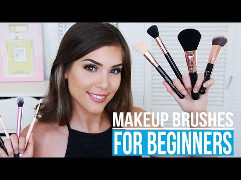 How to use a blender makeup brush