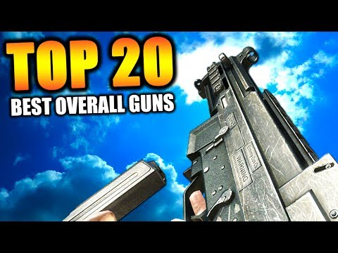 "Top 20 ""BEST GUNS"" in COD HISTORY (Call of Duty) 