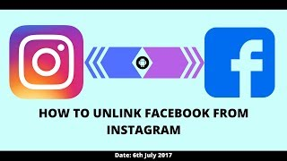 How to UNLINK  Facebook from Instagram Account & Remove Instagram App on Facebook.