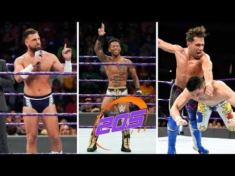 Download WWE 205 Highlights 17th July 2018   WWE 205 Highlights 07 17 18 HD