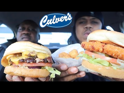 Culver's Spicy Chicken and The Butter Burger Is A Must Try! | MAM Food Reviews