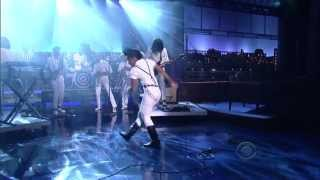 Janelle Monae - Dance Apocalyptic on Letterman 9.9.13