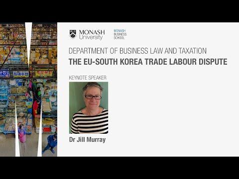 The EU-South Korea trade labour dispute