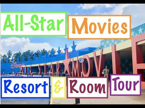 Disneys AllStar Movies Resort & Renovated Room Tour