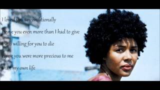 Down on my knees by Ayọ Lyrics [Live]